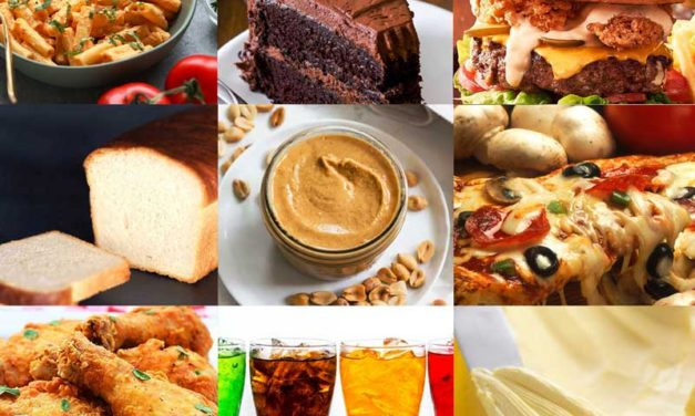 50 unhealthy foods that are harmful to the body