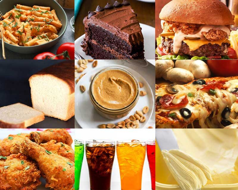 50 unhealthy foods that are harmful for the body 5