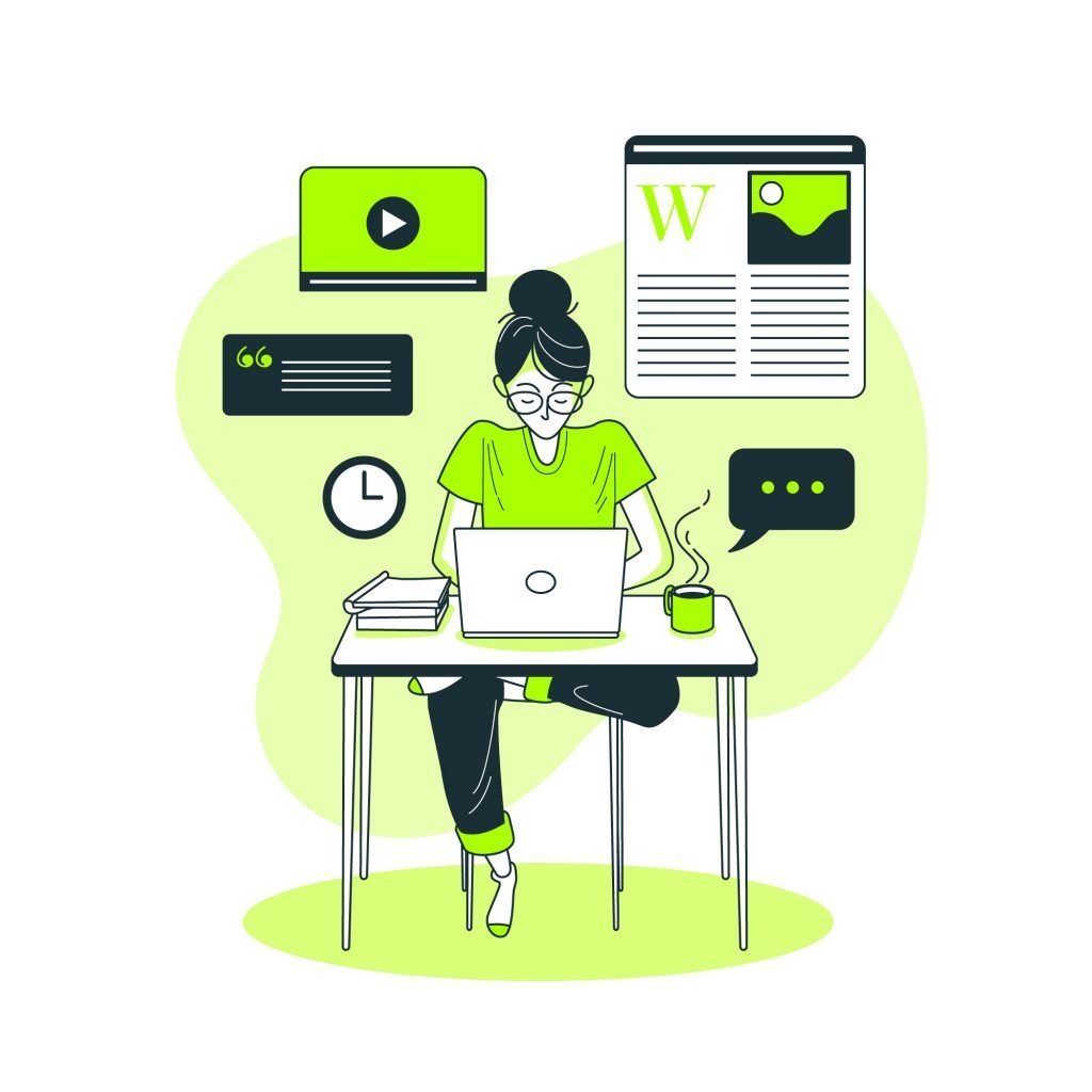 Writing content for website ranking